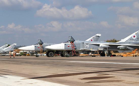 Российская боевая авиагруппа наавиабазе «Хмеймим» вСирии