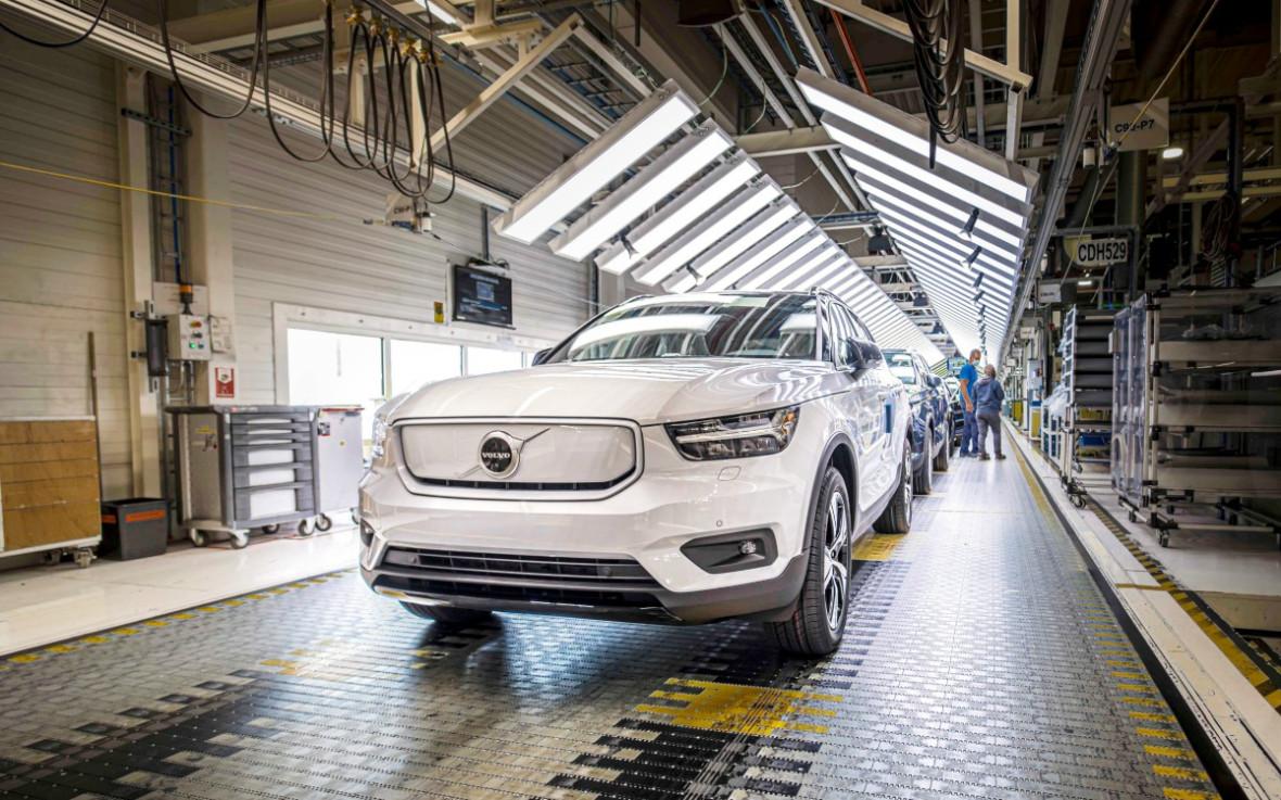 На заводе Volvo в бельгийском Генте стартовало серийное производство первого электромобиля данной марки.