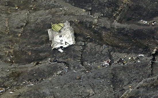 Обломки самолета Airbus A320