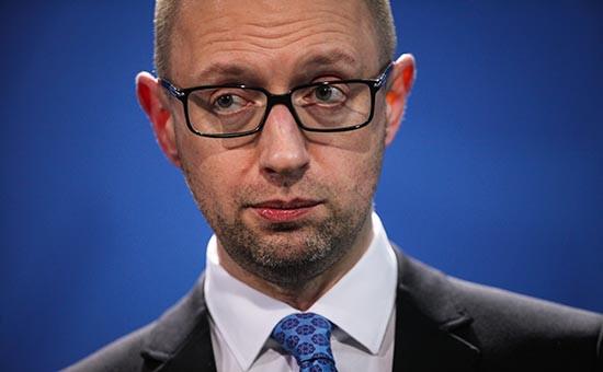 Глава украинского правительства Арсений Яценюк