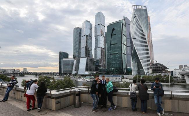 Вид на «Москва-Сити»