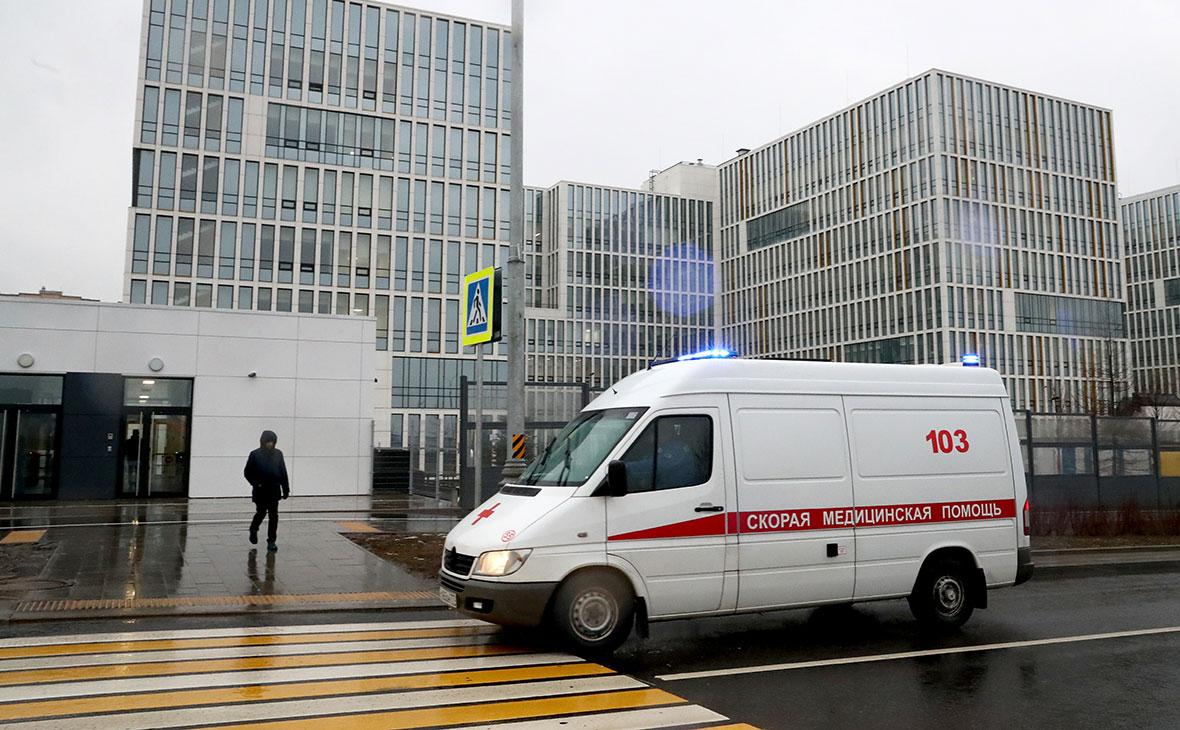 Многопрофильный медицинский центр «Новомосковский», куда госпитализируют пациентов с подозрением на коронавирус COVID-19