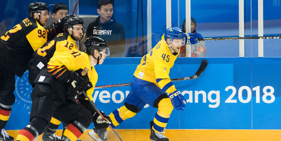 Сборная Швеции по хоккею вылетела с Олимпиады