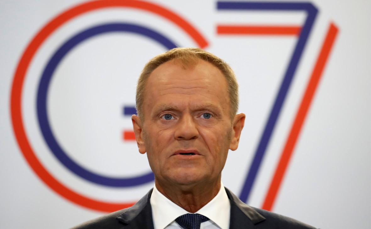 Туск решил позвать на саммит G7 Украину вместо России