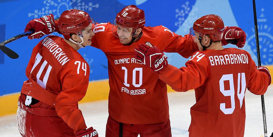 Российские хоккеисты узнали возможных соперников по четвертьфиналу Игр