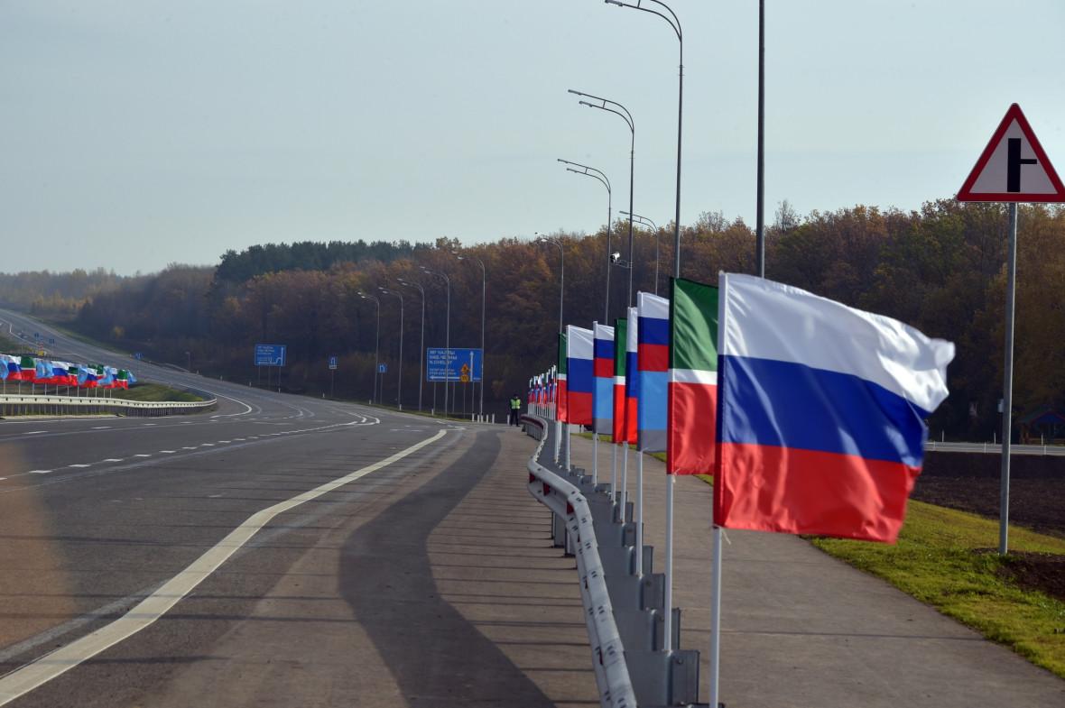 Участок М7 от Казани до Н.Челнов после реконструкции