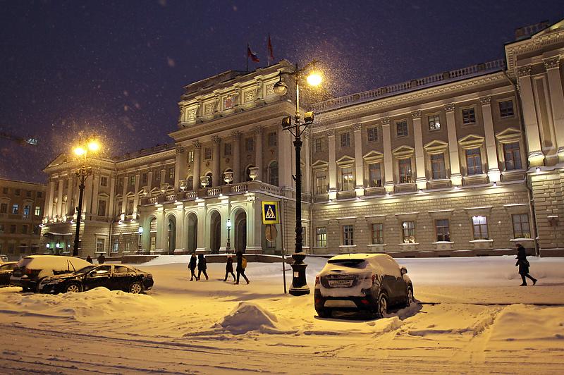 Санкт-Петербург. Мариинский дворец