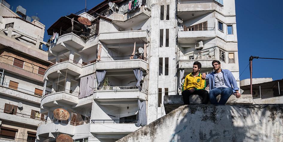 Городская застройкаЛатакии в Сирии