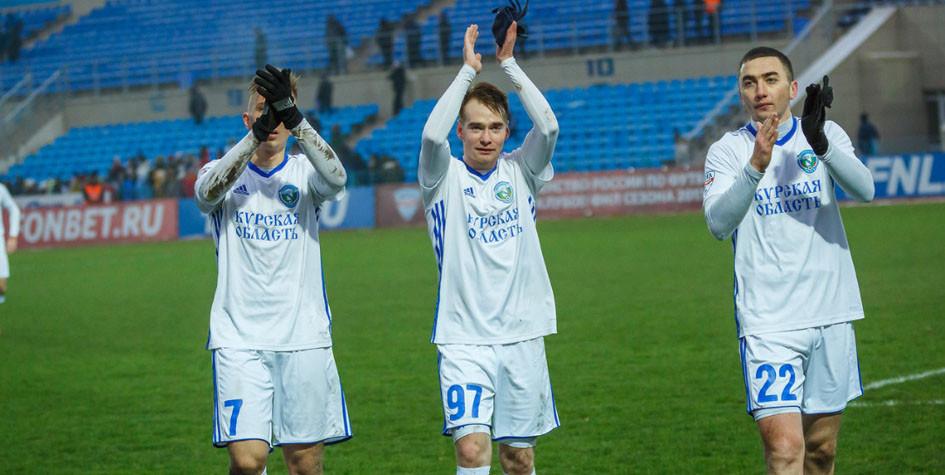 Курский «Авангард» впервые вышел в полуфинал Кубка России по футболу