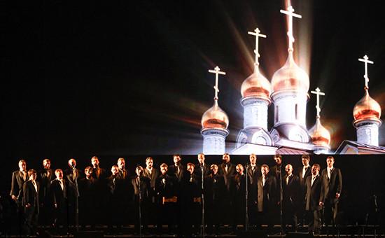 Концерт хора Сретенского монастыря в Москве. Архивное фото