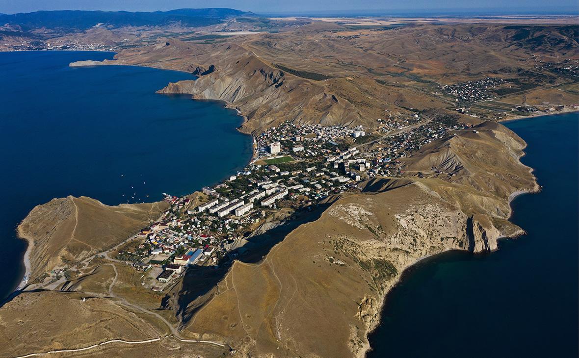Посёлок Орджоникидзе и мыс Киик-Атлама, Крым