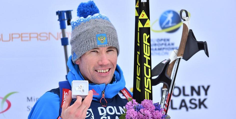 Биатлонисту сборной России простили антидопинговое нарушение