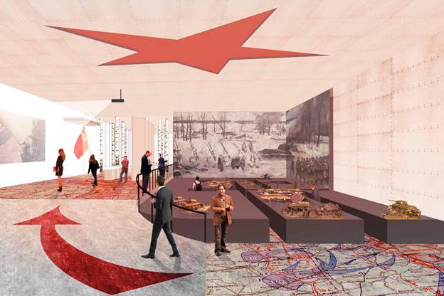 Проект музея Зои Космодемьянской
