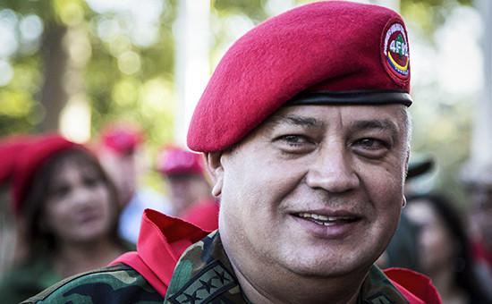 Председатель Национальной Ассамблеи (парламента) Венесуэлы Диосдадо Кабельо