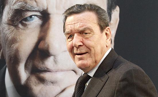 Экс-канцлер Германии Герхард Шредер