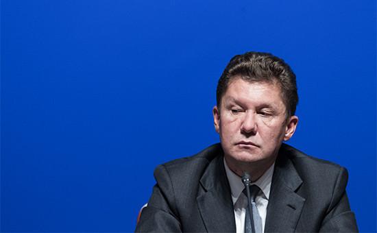 Глава «Газпрома»Алексей Миллер