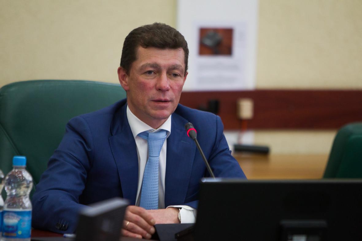 Министртруда и социальной защиты РФ Максим Топилин
