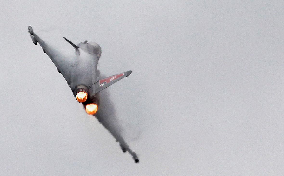 Истребитель «Тайфун» королевских военно-воздушных сил Великобритании