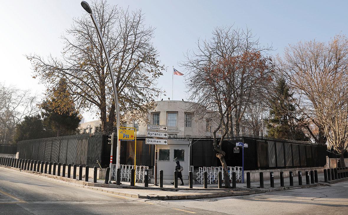 Посольство США в Анкаре, Турция