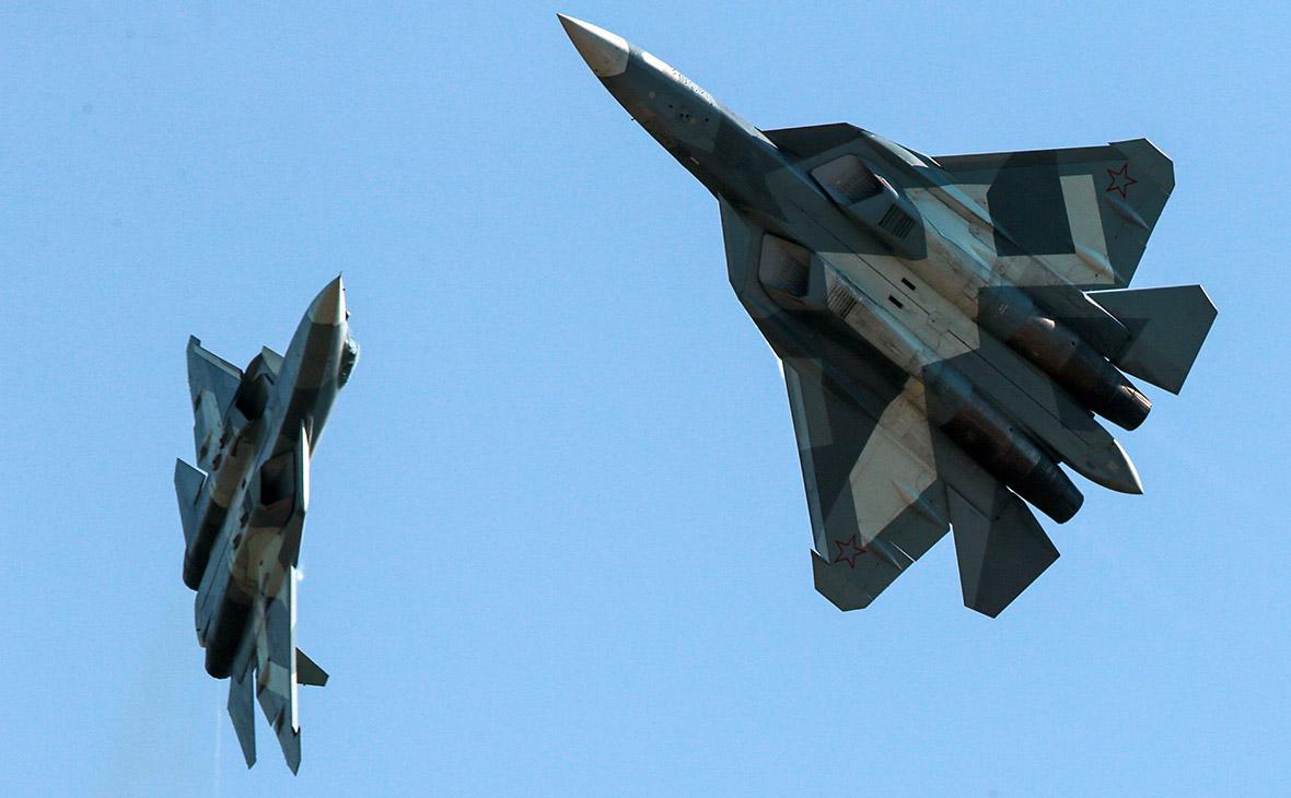 Истребители пятого поколения Су-57