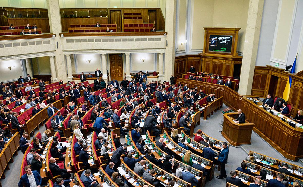 Рада одобрила законопроект о сокращении числа ее депутатов в полтора раза