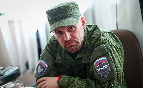 Командир бригады ополченцев «Призрак» Алексей Мозговой