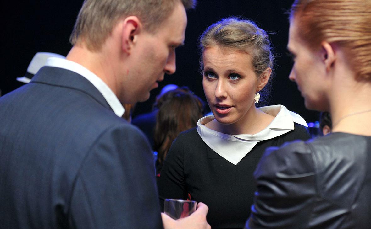 Навальный назвал Собчак частью махинации властей и отказался сотрудничать