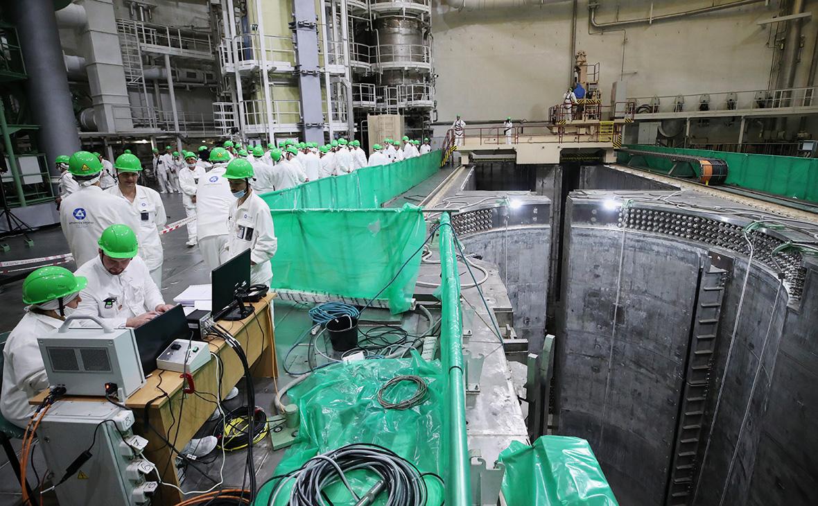 Физический пуск первого энергоблока БелАЭС
