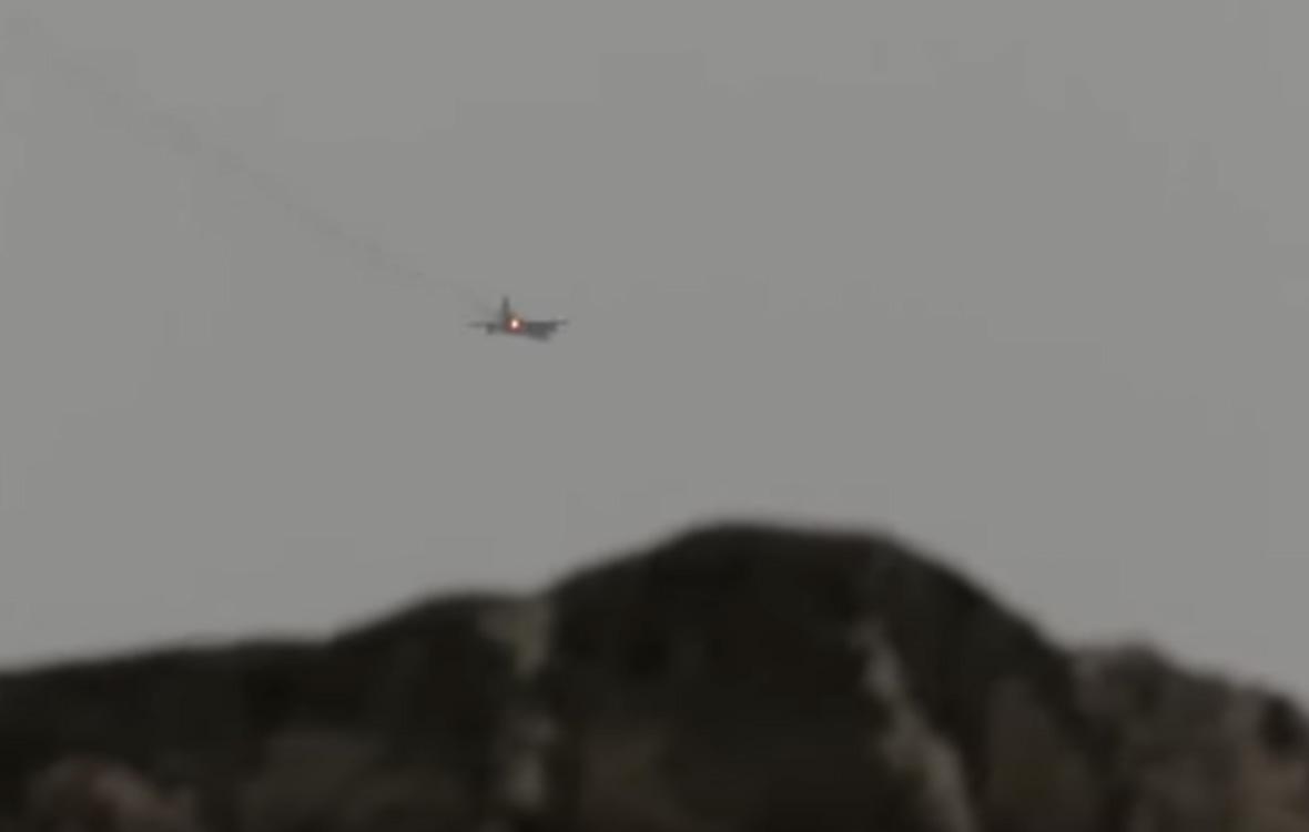 Падение Су-25в Сирии