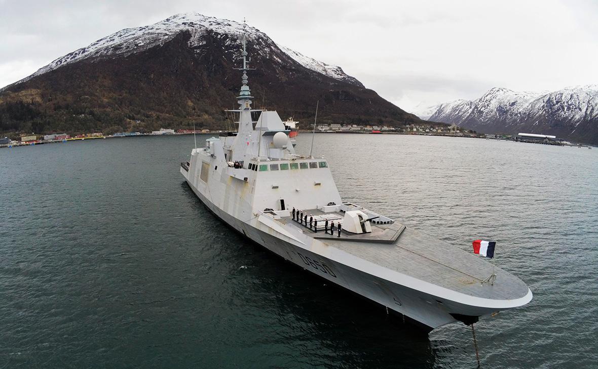 Французский фрегат «Аквитания»