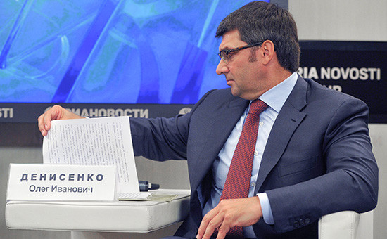 Кандидат в омские губернаторы от КПРФ, депутат Госдумы Олег Денисенко