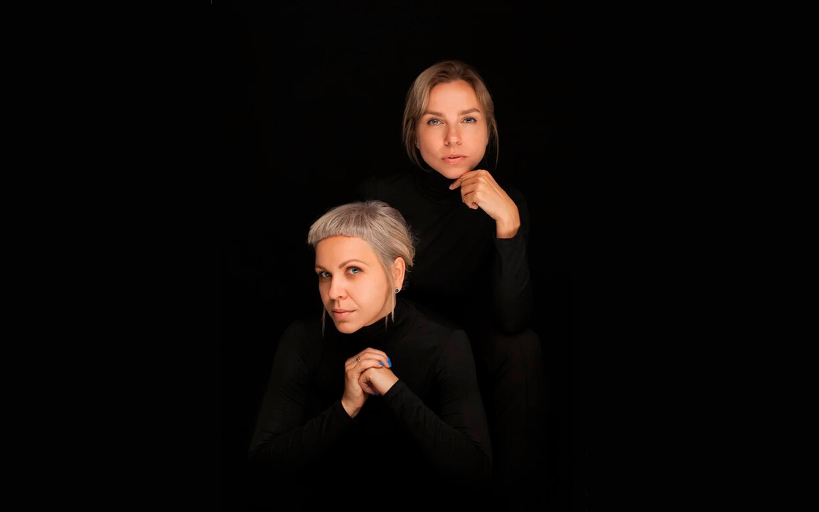 Партнеры студии DVEKATI Екатерина Любарская (справа) и Екатерина Сванидзе