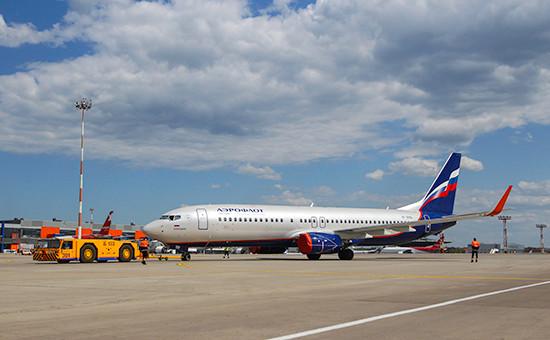 Самолет компании«Аэрофлот»