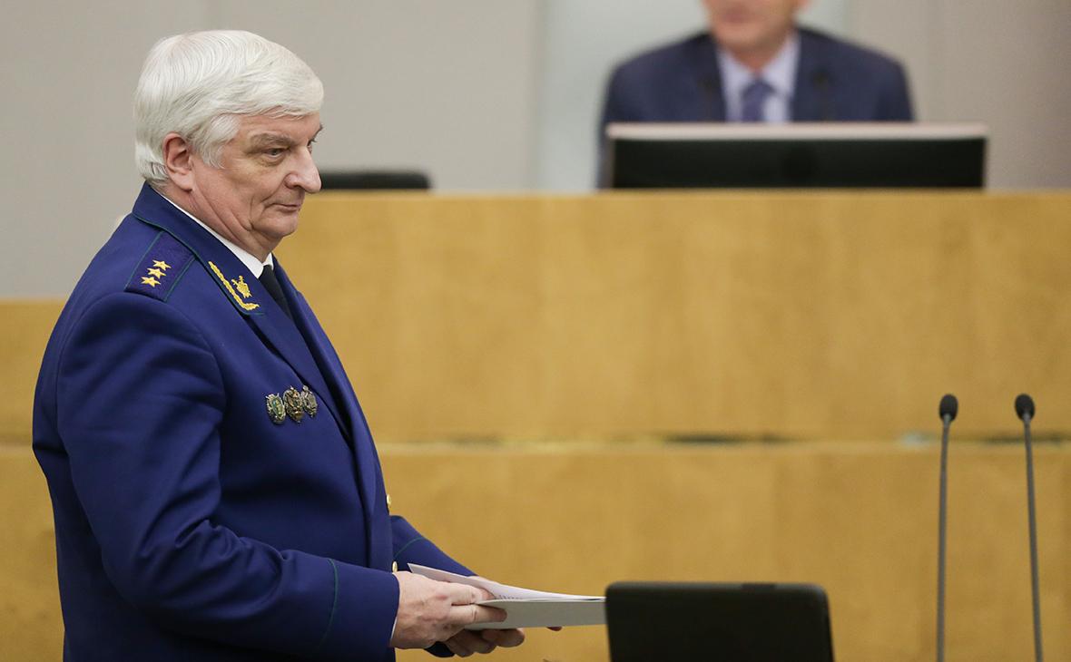 Совет Федерации отправил заместителя Чайки в отставку