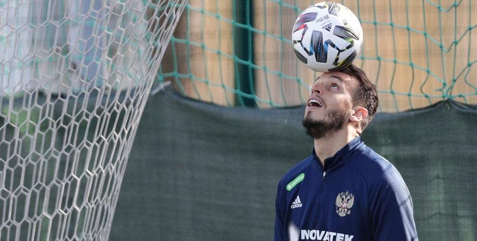 Вратарь сборной России по футболу Маринато Гилерме