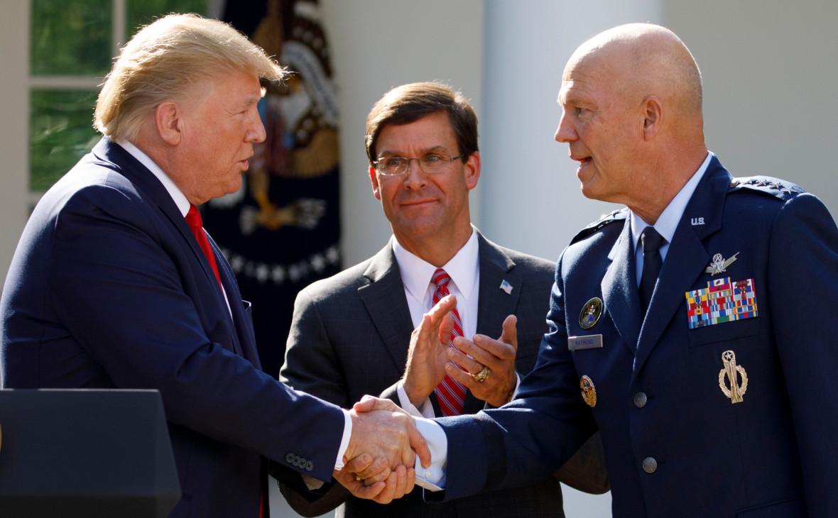 Трамп назвал космос следующей областью военных действий