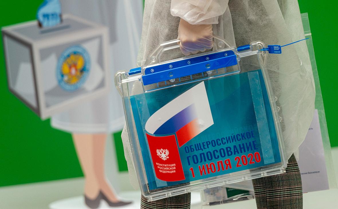 Фото: Пресс-служба ЦИК России / ТАСС
