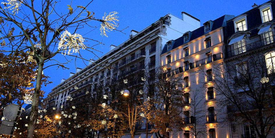 Авеню Монтань в Париже