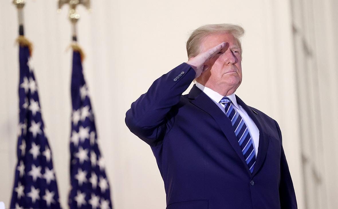 Трамп пообещал мирную передачу власти в случае поражения на выборах