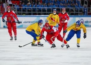 Россия хоккей с мячом