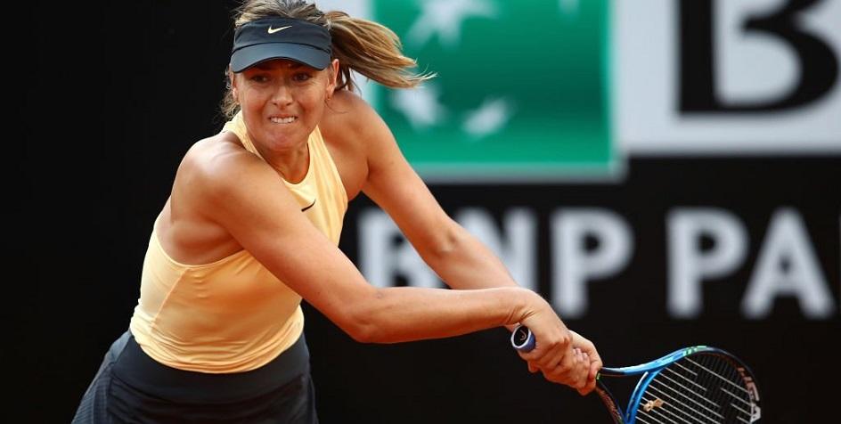 Шарапова за три часа победила чемпионку «Ролан Гаррос» на турнире в Риме