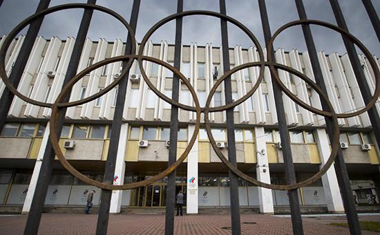 ЗданиеОлимпийского комитета в Москве