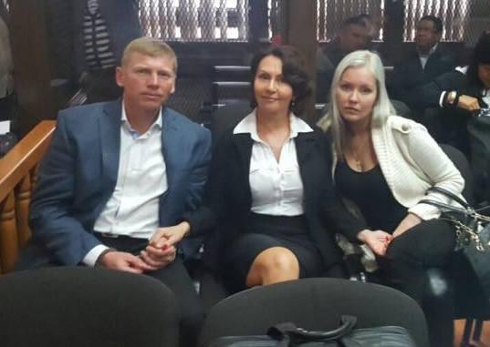 Игорь, Ирина и Анастасия Битковы