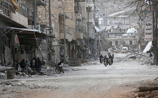 Эль-Баб, Сирия. 28 февраля 2017 года