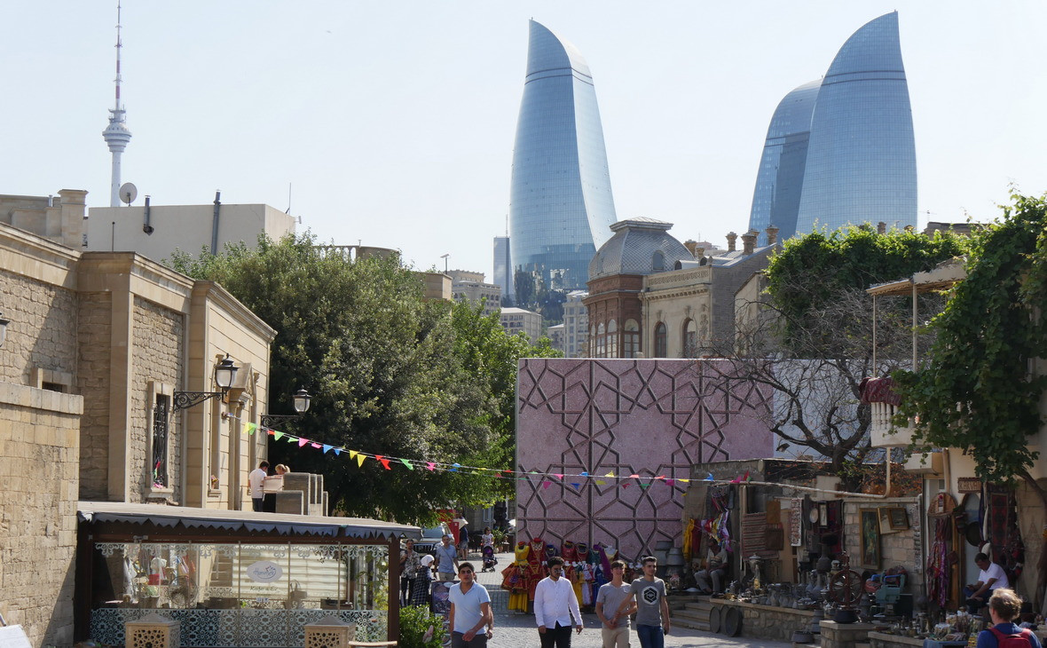 Баку, столица Азербайджана