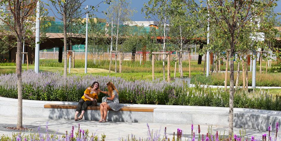 Ландшафтный парк «Тюфелева роща» на территории бывшего завода ЗИЛ