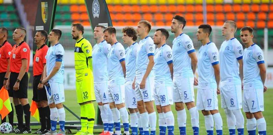Футболисты минского «Динамо»
