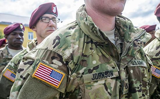 Солдаты американской армии. Архивное фото