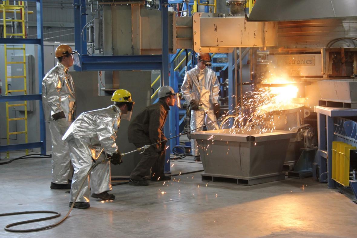 Производственная площадка «Екатеринбургского завода по обработке цветных металлов»