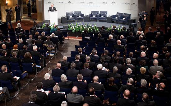 Во время проведения Мюнхенской конференции побезопасности